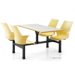 MODEL  D 939-1  (4 SEATER CANTEEN FURNITURE)